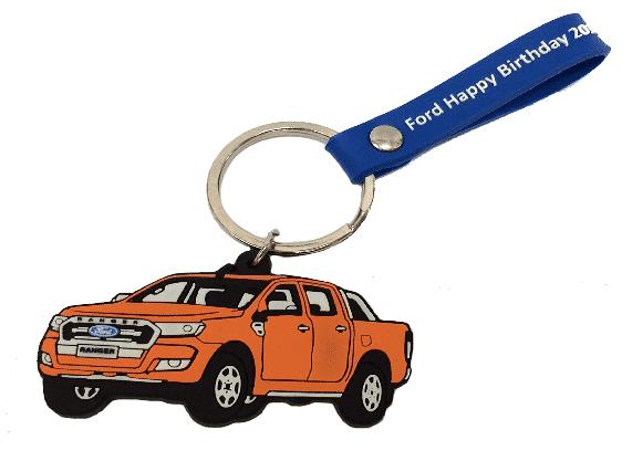 พวงกุญแจแบบยางหยอด